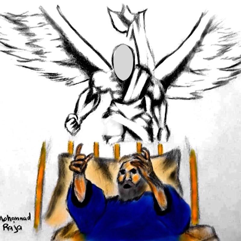 وَالنَّازِعَاتِ غَرْقًا ﴿١﴾
